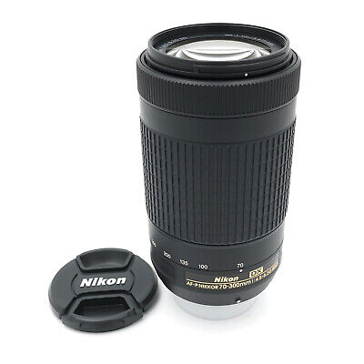 Nikon AF-P DX NIKKOR 70-300mm f/4.5-6.3G ED Lens MINT (Used)