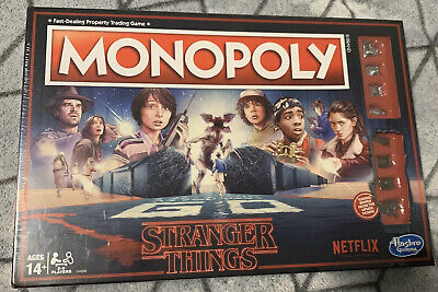 Hasbro Monopoly Game Stranger Things  Board Game -  New In Box (Sealed)