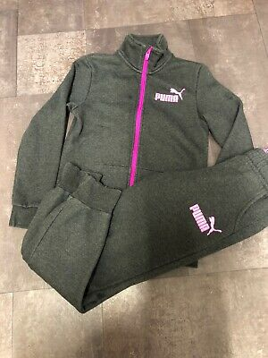 Girls Puma Tracksuit Age 11-12 Years