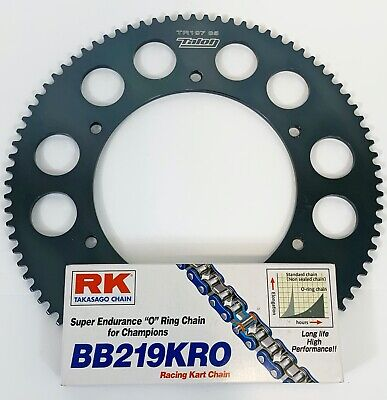 RK ORing Chain Any Size 100-112 link & Talon Sprocket for Kart Rotax X30 Cadet