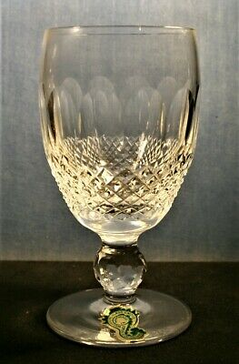 """Waterford COLLEEN Short Stem White Wine  602/137 4 1/2"""" TOP QUALITY Signed"""