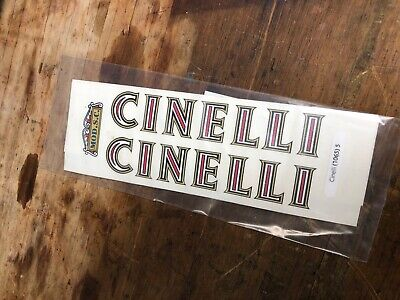 Decals 01063 Cinelli Bicycle Stickers Transfers