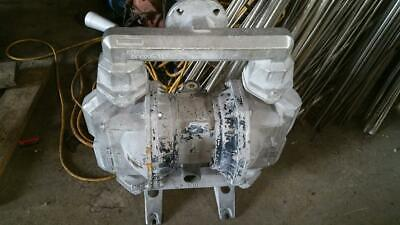 "ARO 2"" STAINLESS DIAPHRAGM PUMP PF20A-ASS-SSA Used"