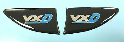 CORSA VXD Indicator - Blue Repeater Stickers - HIGH GLOSS DOMED GEL - Vauxhall