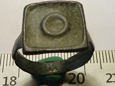5304	Ancient Roman bronze ring 19 mm