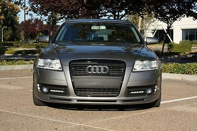 Audi A6 C6 4F  Front Lippe Spoiler !!!
