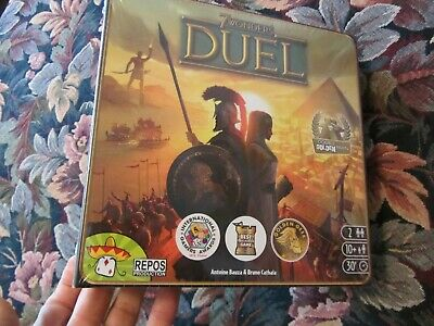 7 Wonders Duel Board Game! New Sealed - SEV07 - Repos Production