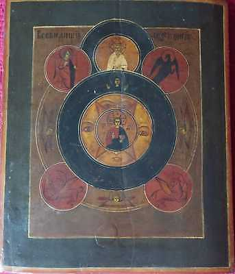 RUSSIAN ICON ANTIQUE ORIGINAL 18th XVIII CENTURY ORTHODOX PAINTING OLD RARE