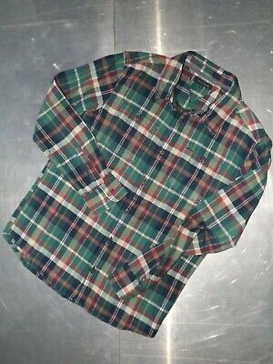 Tommy Hilfiger boys cotton check long sleeve warm shirt size 3 14 years 164 cm