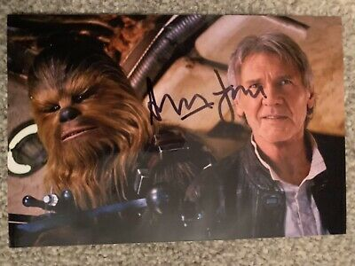 Harrison Ford Signed Autograph