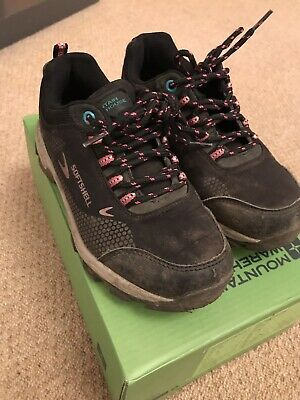 Mountain Warehouse Black Softshell Walking Boots/Trainers - Size 13 EUR 32