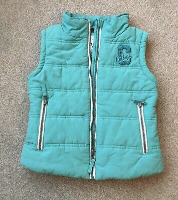 Next Green Gillet / Body Warmer For Girl Age 9-10