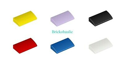 X10 15068 New. LEGO: Curved Slope Brick 2 X 2 X 2//3 Various Colours