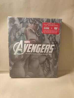 Marvel The Avengers DVD with The Ultimate Collectors Guide Book Brand New