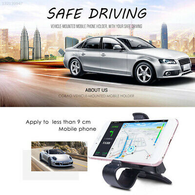 ABS Black Gadget Automobile GPS Mount Holder Facility Universal Car Interior