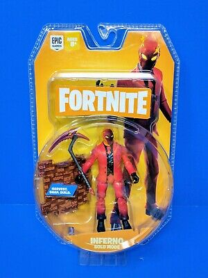 Fortnite Solo Mode INFERNO Action Figure Jazwares Takara Tomy IN HAND