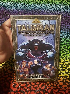 Talisman The Blood Moon Expansion NEW Sealed OOP First Print Games Workshop