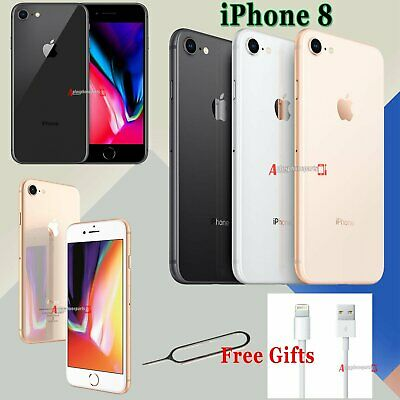 Unlocked Apple iPhone 8 64GB SIM Free Mobile Smartphone Space Grey Silver Gold