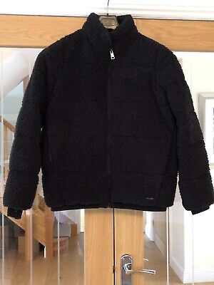 Sweaty Betty Sherpa Jacket Size XS Black Sold Out Current Season £225.