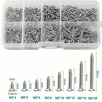 Stainless Steel Wood Screw Assortment Self Tapping Small Metal Screws
