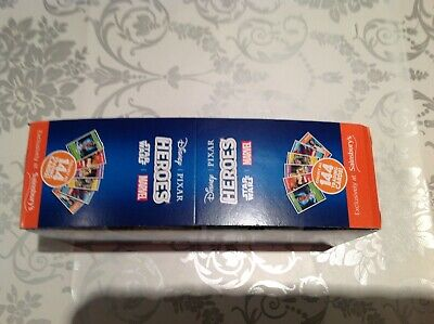 Sainsburys Disney Heroes Cards Full Box Brand New