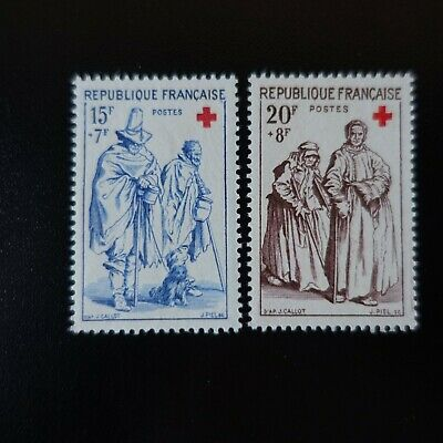 France Timbre Croix Rouge N°1140/1141 Neuf ** Luxe Mnh