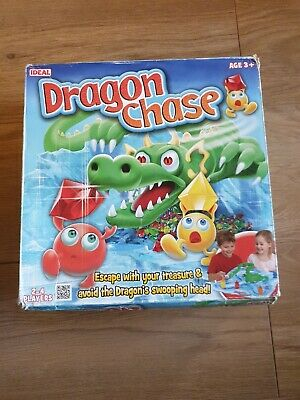 DRAGON CHASE Board Game Super RARE 2012 Ideal. Please Read.