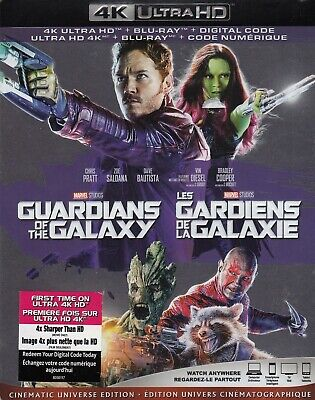 Guardians Of The Galaxy (4K Ultra Hd/Bluray)(2 Disc Set)(Used)
