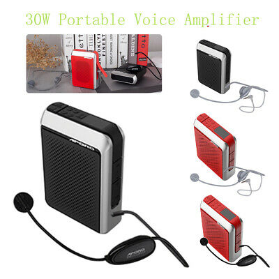 APORO 2.4G Wireless Bluetooth Voice Megaphone Amplifier Microphone Loudspeaker