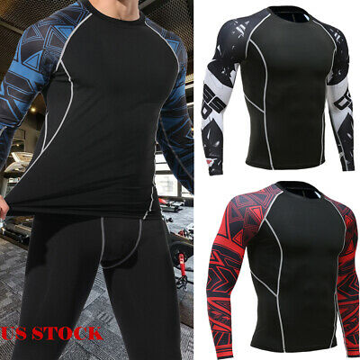 Zimco Winter Compression Jersey Baselayers Thermal Under Top Shirts Skins White