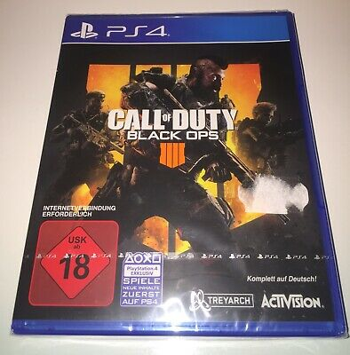 PS4 - Playstation 4 - Call of Duty Black Ops 4 - NEU/OVP - Deutsche Version