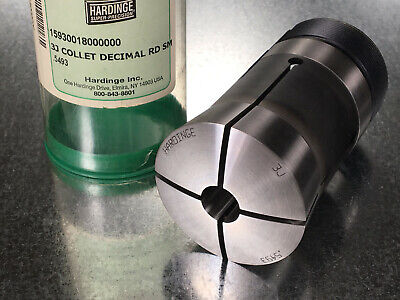 "Hardinge 3J Collet .5493"" Round Smooth, Internal Thread"