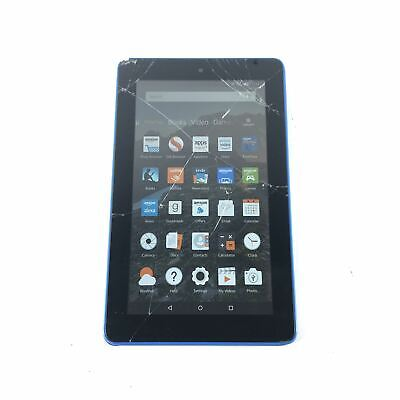 Amazon Kindle Fire 5th Generation 16 GB Wi-Fi 7in Blue eReader Tablet Read