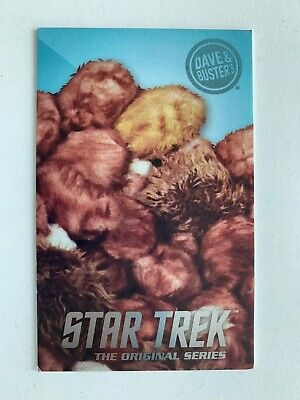 Dave and Buster's Star Trek Tribbles Non-Holo/Non-Foil Rare Card
