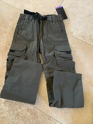 Choose Color Size XS 5//6 or S 7//8 UnionBay Youth Convertible Zip Pants//Shorts