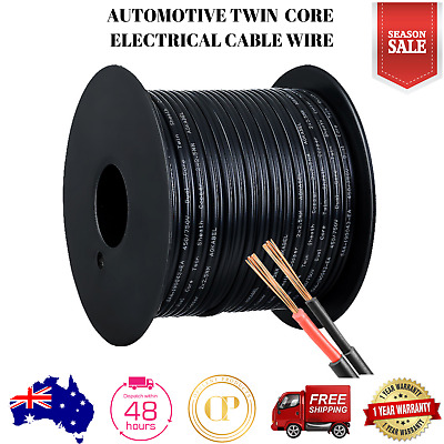 Automotive Twin Core Electrical Cable Extension Wire 30M Car Solar Panel 450V