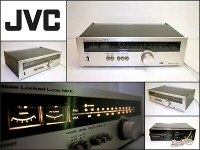 Vintage JVC JT-V310 AM FM Stereo Tuner with Ferrite Antenna Japan