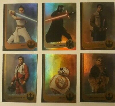 Ediciones Limitadas. The Rise Of Skywalker (El Ascenso De Skywalker). 5 Modelos