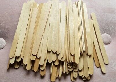 WOODEN CRAFT STICKS PADDLE POP POPSICLE Food Grade Shipped From Australia free