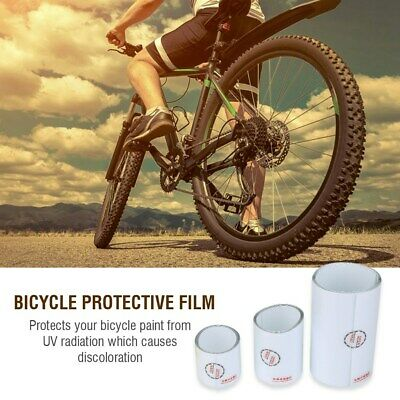 MTB Mountain Bike Frame Sticker Transparent Bicycle Paint Protection Film #VIC