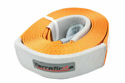 TFSS11000 Terrafirma Snatch Strap 11000kg 9m X 80mm Orange