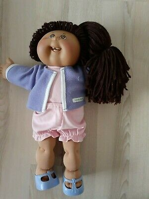 Cabbage Patch Kids Doll- 2008- Brown Yarn Hair - Brown Eyes -