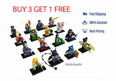 Lego DC Super Heroes Series Minifigures 71026 Batman Bat-Mite Huntress Miracle
