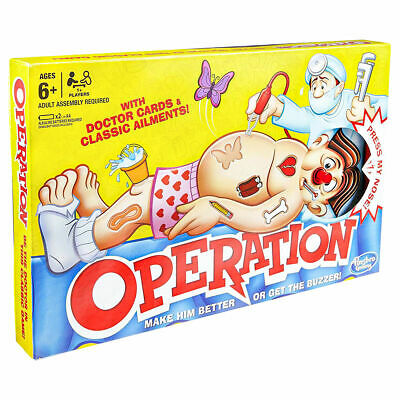 Classic Operation by Hasbro -  the family favourite game