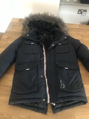 Ted Baker Navy Blue Boys Winter Coat - Age 8 Years