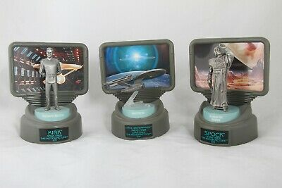 Star Trek Champions Fine Pewter Figures LIMITED EDITION set of 3 with COA