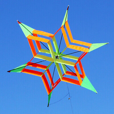 3D Large 51/'/' Frog Single Line Soft Kite Line Laundry Show Kite Outdoor Fes I1R0