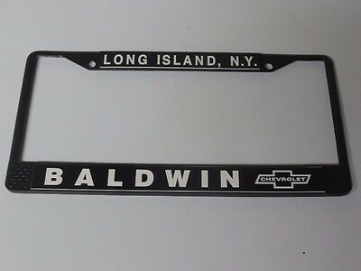 Baldwin Motion Chevrolet   License Plate Frame  Camaro, Chevelle, Nova
