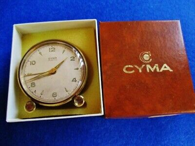 CYMA Amic. Excellent vintage table alarm clock (Swiss made)