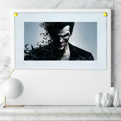 "8""x14"" DC Batman Joker Paintings HD Canvas prints Home decor Wall art Pictures"